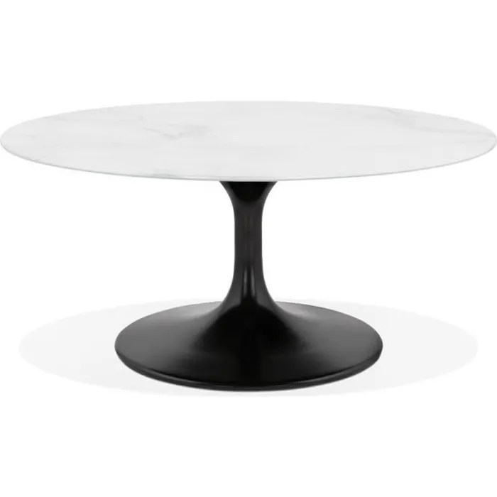 table basse pied central