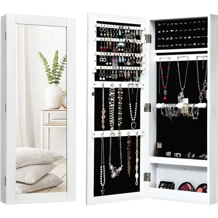 armoire glace bijoux