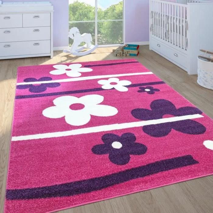 tapis enfant filles chambre enfant tapis de jeux p
