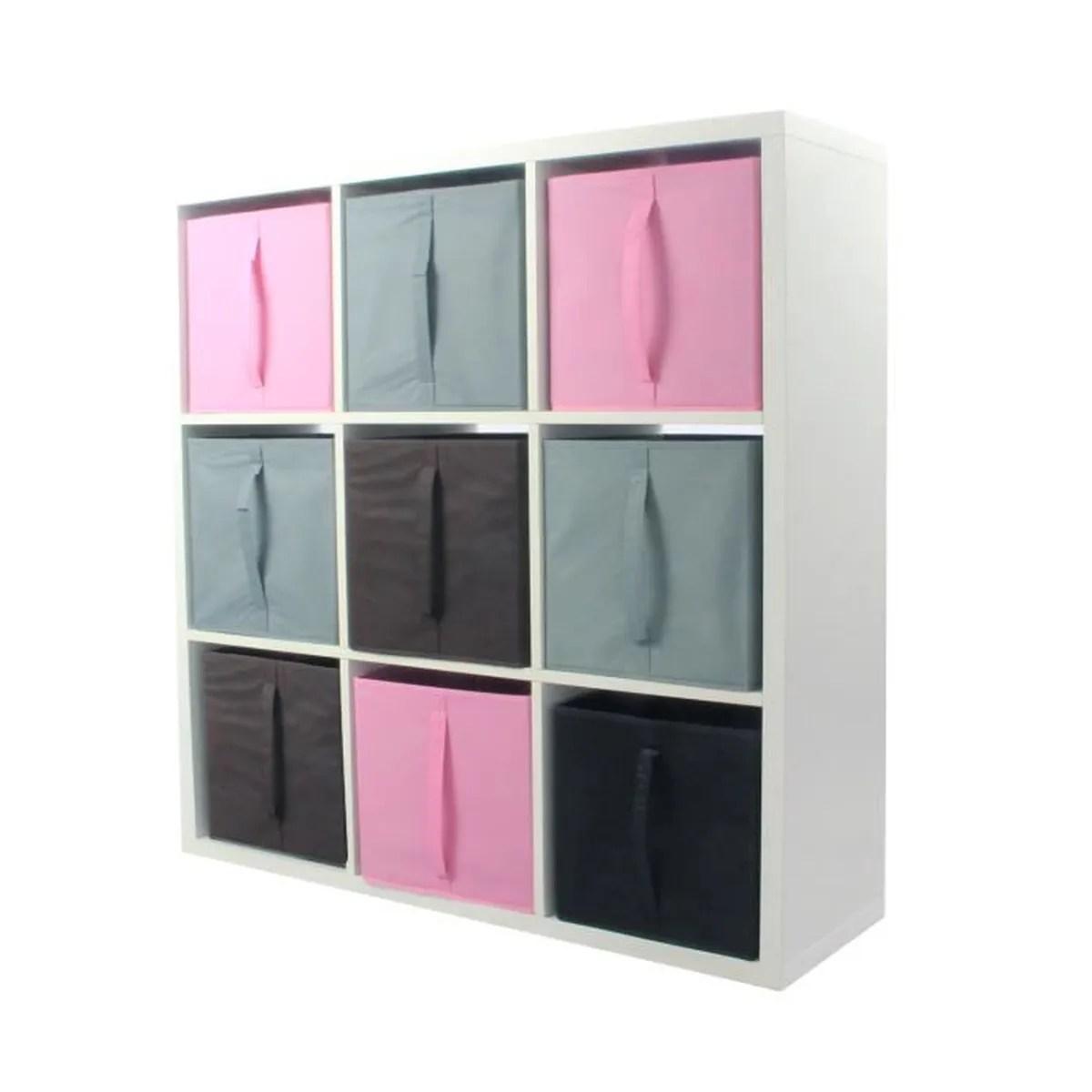 compo meuble de rangement 9 cases 9