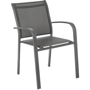chaise de jardin alu