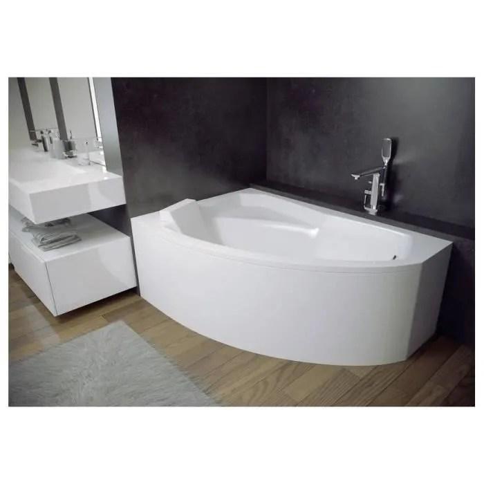 baignoire d angle gauche rima 130 140