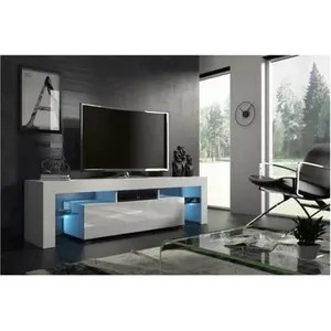 meuble tv 160 cm cdiscount maison
