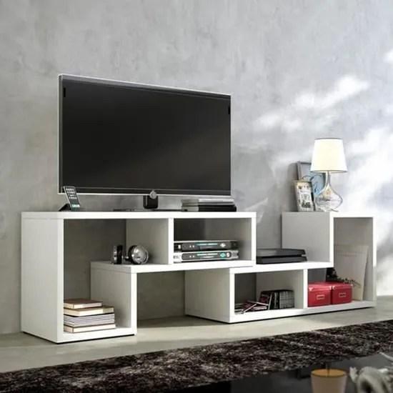 luxs meuble tv etagere multifonction meuble de ran