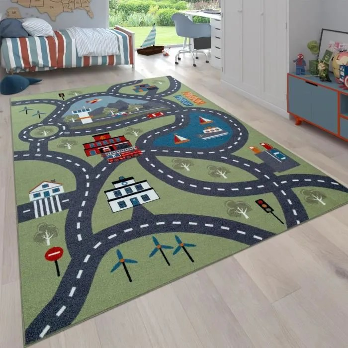 tapis de chambre enfant garcon
