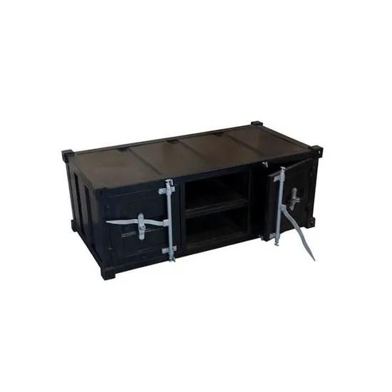 avis client meuble tv container