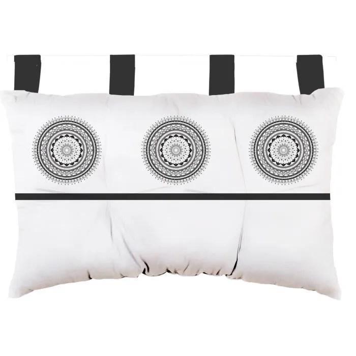 soleil d ocre tete de lit mandala en coton 45x70