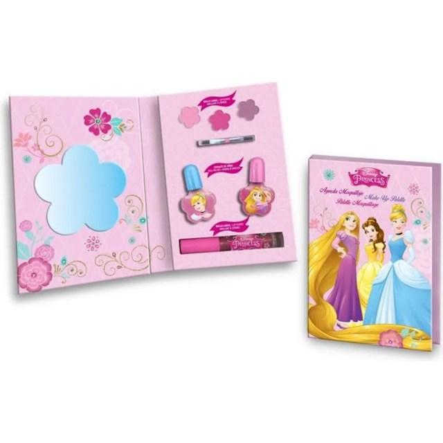 Princesses Disney, Maquillage De Filles - avec un Miroir, fards à