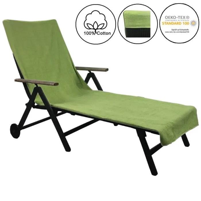 serviette de plage pour chaise longue de plage et