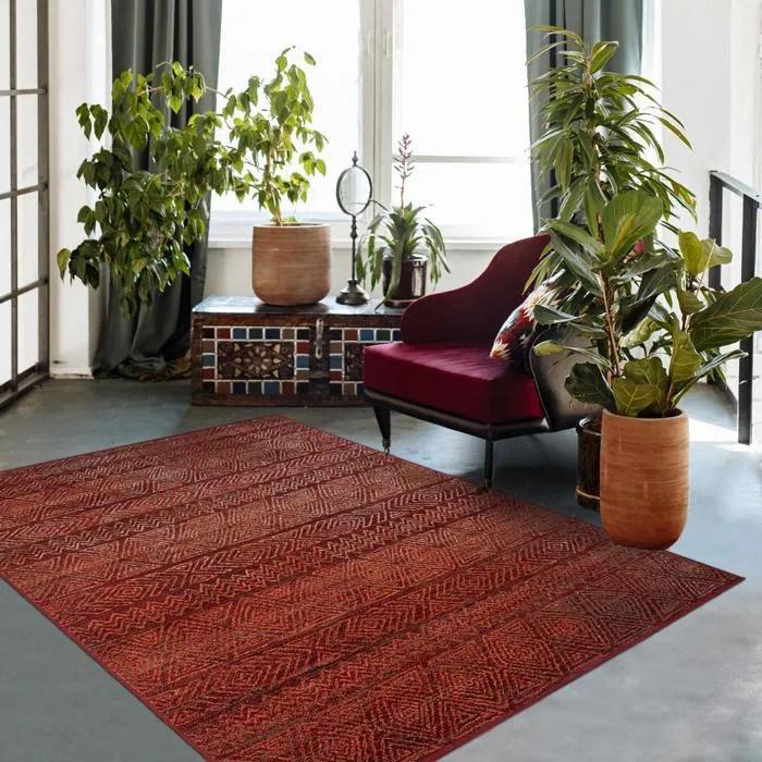 tapis berbere rouge