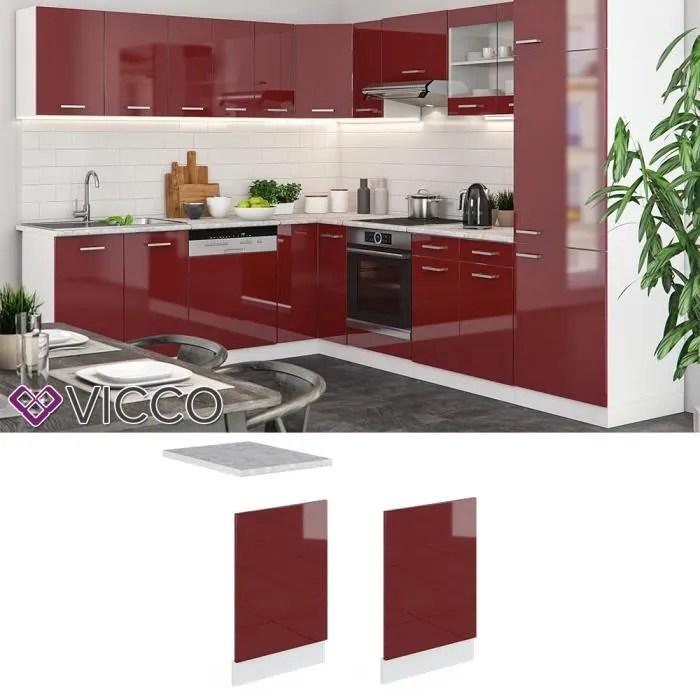 vicco meuble de cuisine meuble haut meuble bas cuisine integree r line