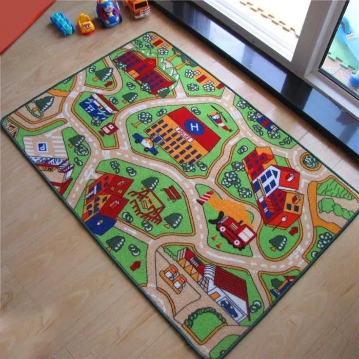 tapis pour enfant de circuit tapis de jeu pour moq