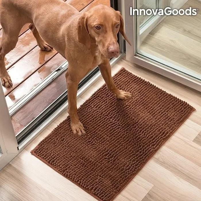 tapis absorbant chien et chat microfibre pour patt
