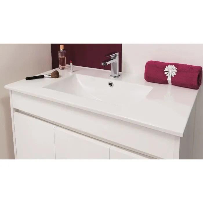 nina salle de bain complete simple vasque l 81 cm