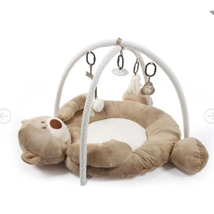 tapis d eveil bebe musical ours polaire baby gym j