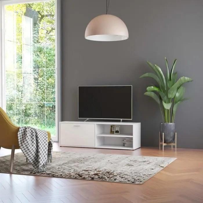 meuble tv etagere de rangement design contemporain