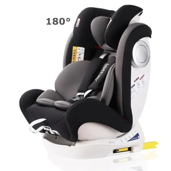 lettas siege auto groupe 0 1 2 3 coque bebe avec isofix protection contre les impacts lateraux rehausseur voiture enfant couleur