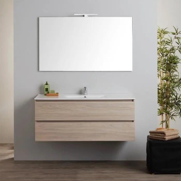 armoire de toilette murale avec lavabo integre et
