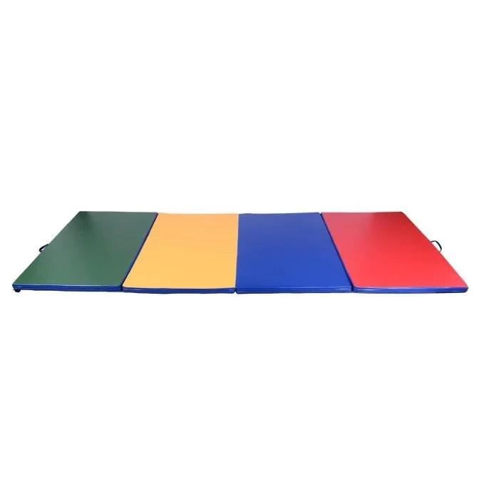 tapis de gymnastique pliable