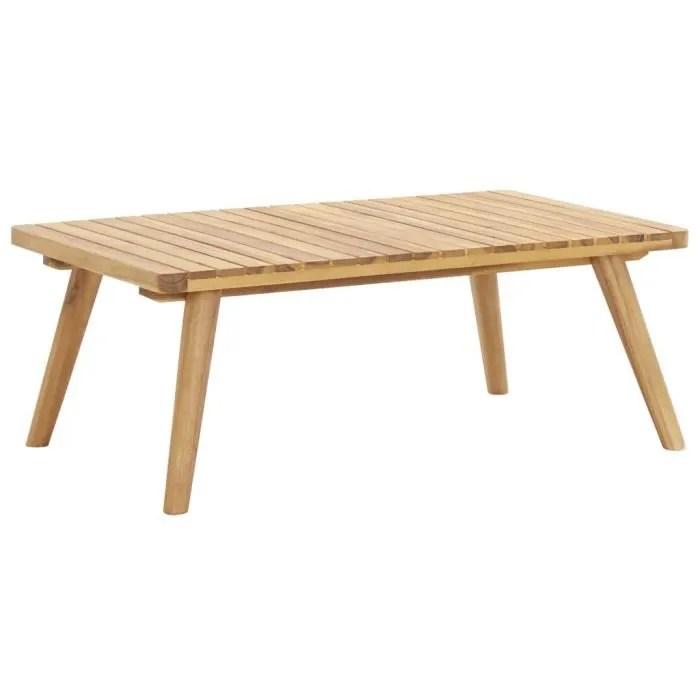 table basse d exterieur table de jardin 90x55x35 c