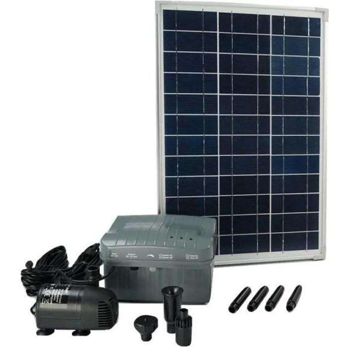 ubbink pompe de bassin solaire solarmax 1000 avec
