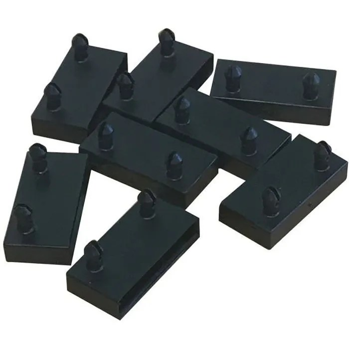 altolattes lot de 8 embouts noirs