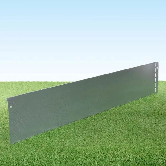 bordure de jardin pelouse en metal en tole d ac