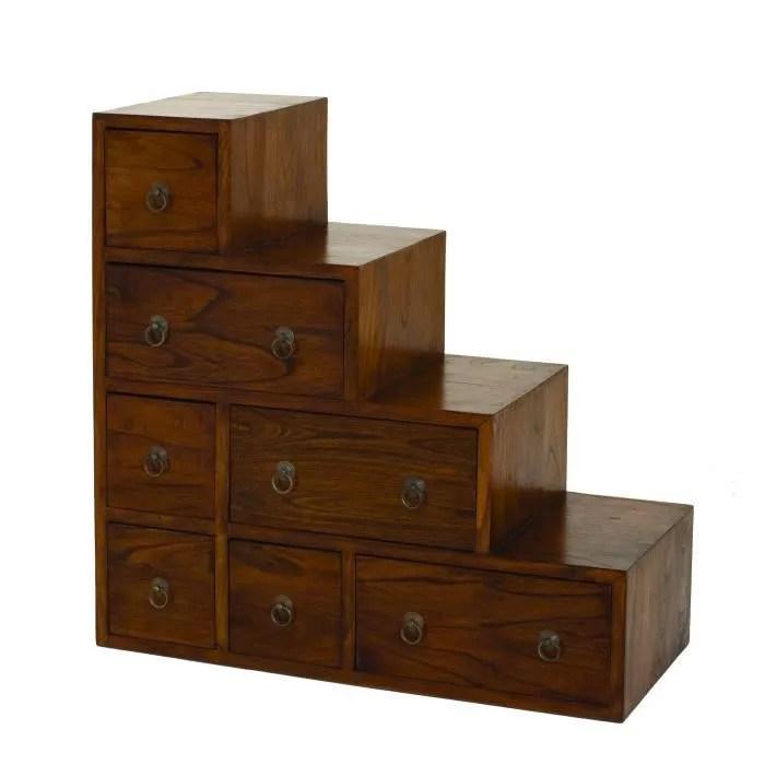 lola meuble de rangement escalier en bois massif