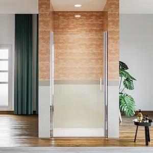 porte de douche pliante niche 76 cm