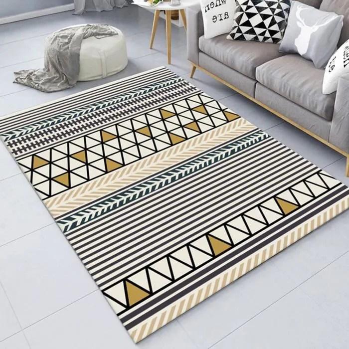 tapis salon tapis berbere 120 200cm grand tapis po