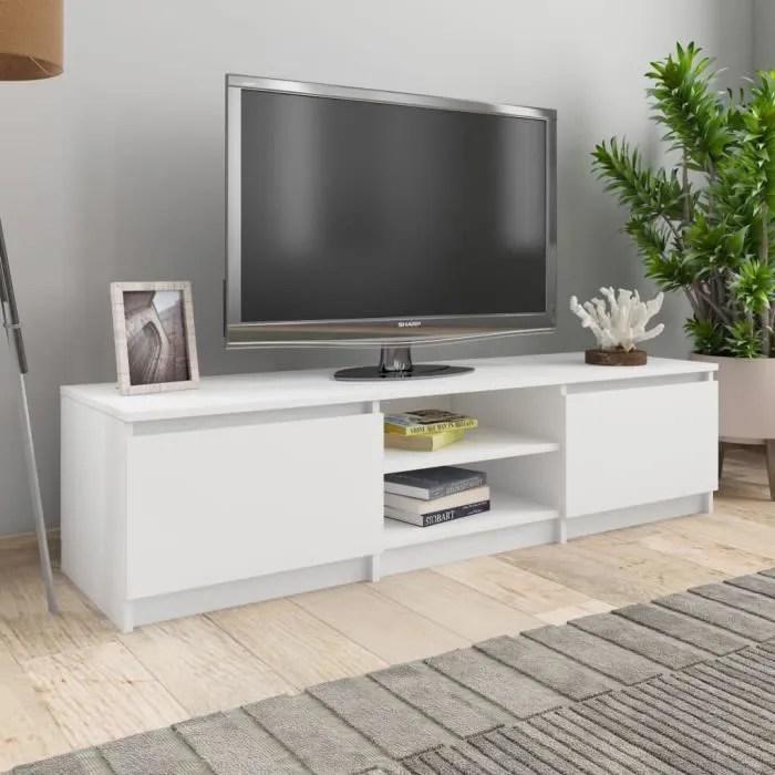 meuble suspendu 140 cm