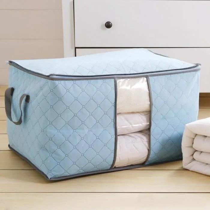 sac de rangement pour couette en epais non tisse sac de rangement sous lit pour edredons couvertures oreillers vestes vetements