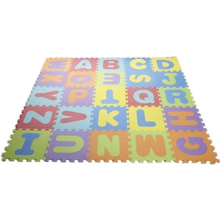 pe puzzle tapis mousse bebe alphabet et chiffres 8