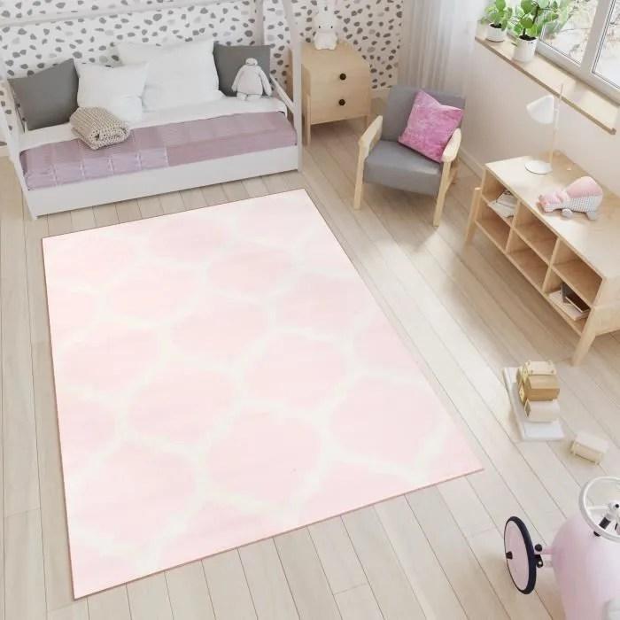 tapiso smile tapis chambre enfant bebe moderne geo