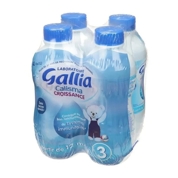 gallia calisma croissance lait en