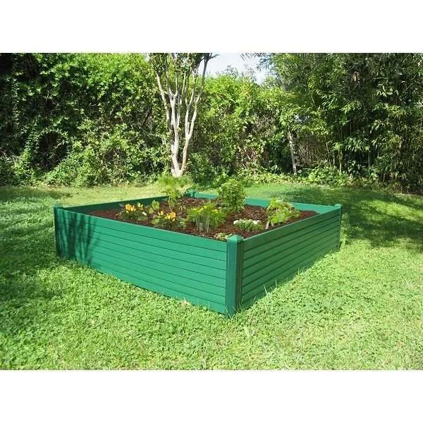 carre potager 100 x 100 cm vert achat