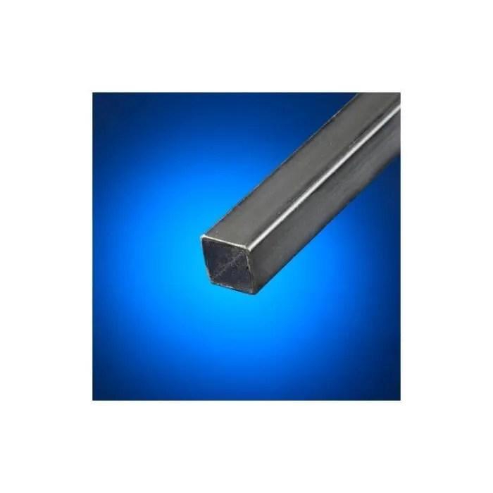 tube carre acier noir 30mm epaisseur 3 mm longueur en metre 1 metre