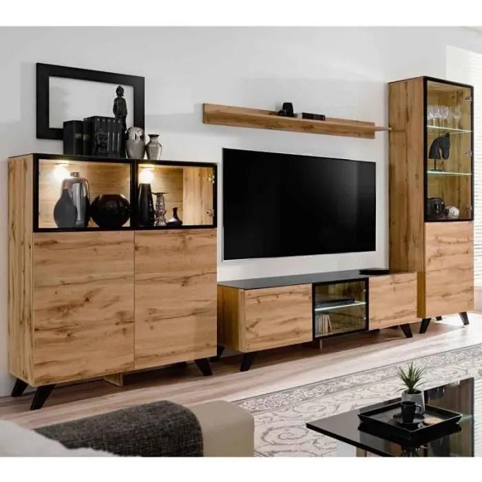ensemble meuble tv bibliotheque