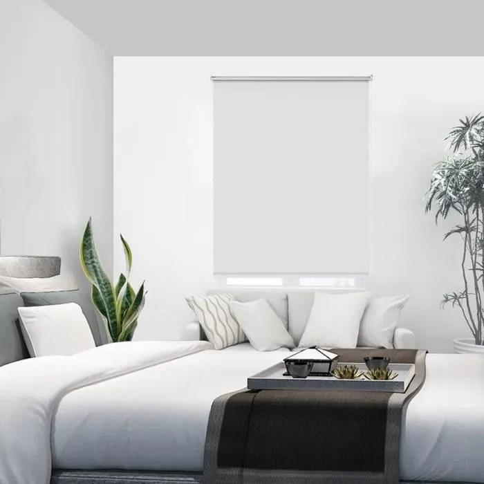 store enrouleur blanc 70 x 170 cm store occultant