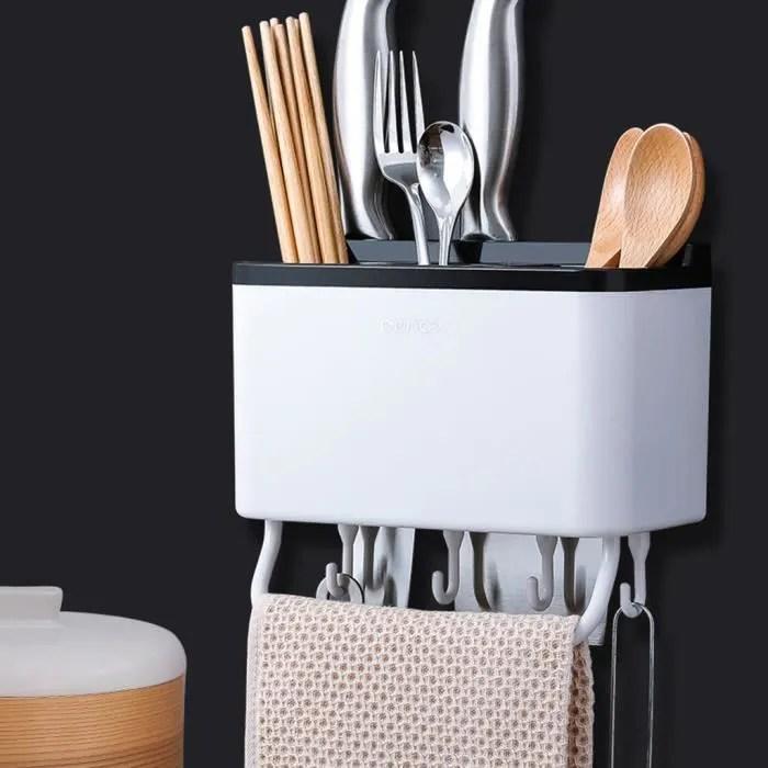 boite de rangement bac de rangement cuisine cuillere chopsticks fourchette drainant cut organisateur holder de stockage en rack