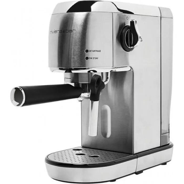 riviera bar machine a expresso automatique 1400w 2 tasses bce450