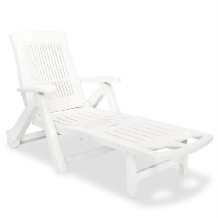 chaise longue de jardin chaise longue pliante bain