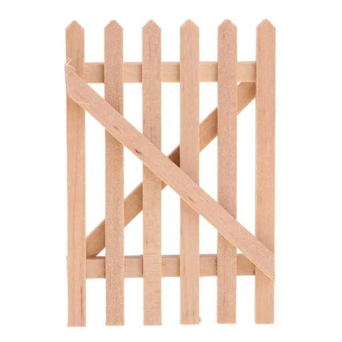 barriere cloture bois