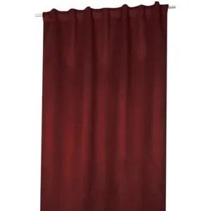 rideaux a patte rouge