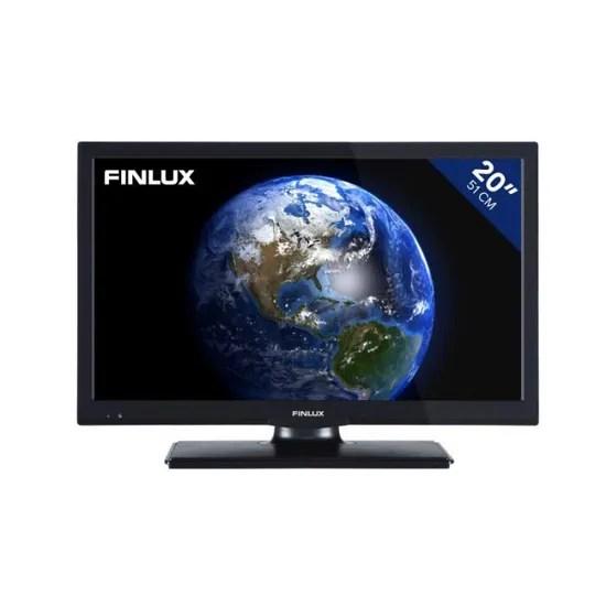 televiseur 20 pouces 51 cm led hd ready avec syntoniseur dvb t integre finlux fl2022 noir