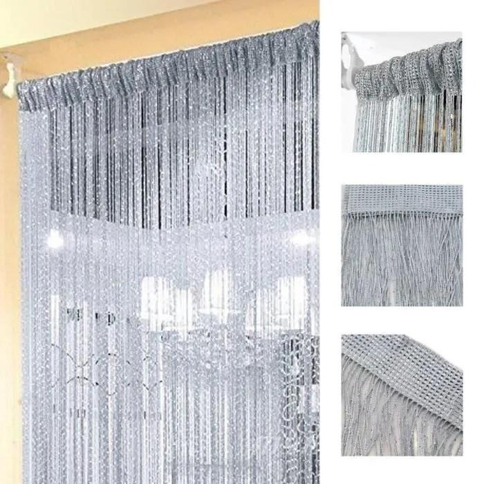 tempsa 100x200cm rideau fenetre fil porte en polye