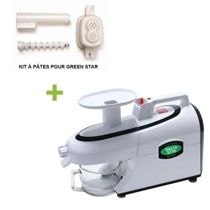 pack tribest greenstar elite gse5000 blanc kit a pates extracteur de jus horizontal