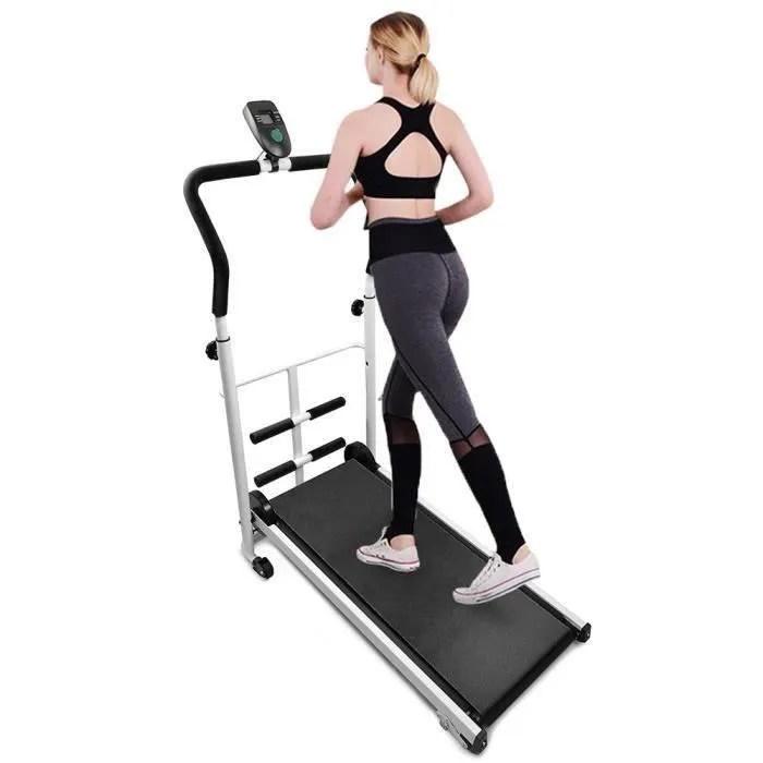 dianwaa tapis de course fitness le sit up gris san