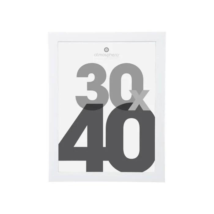 cadre photo lise 30 x 40 cm blanc