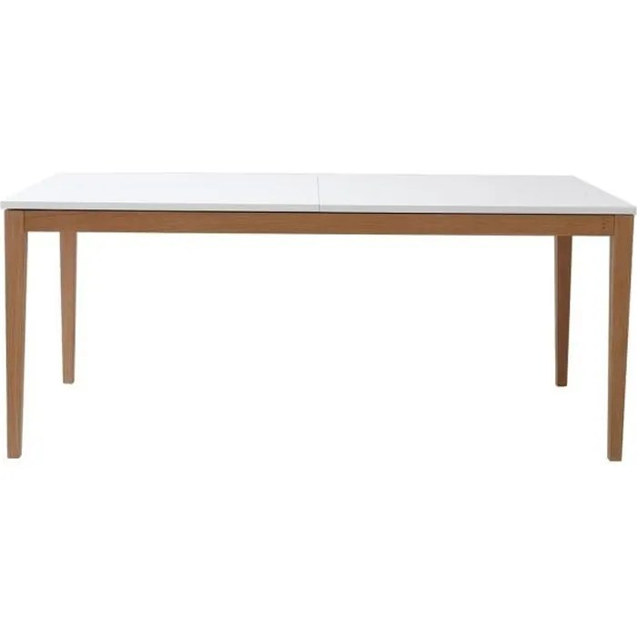 table a manger extensible dona blanche